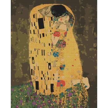 «Поцелуй» Густава Климта 40*50