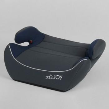 Бустер детский автомобильный JOY 65127 Серый с синим, группа 2/3, вес ребенка 15-36 кг