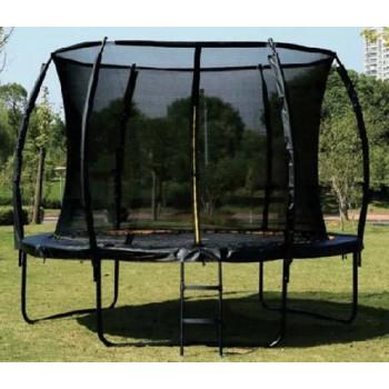 Батут для детей с внутренней защитной сеткой и лестницей Profi MS 2921-3-LUX (диаметр 305 см, высота 180 см)