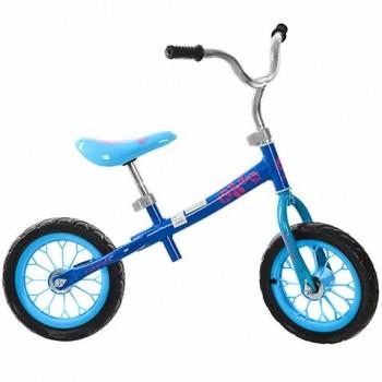Беговел двухколесный детский с EVA колесами Profi Kids M 3255-2 Голубой