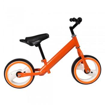 Беговел TILLY 12 T-212515 Orange с бескамерными светящимися колесами EVA диаметром 12