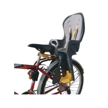 Кресло детское для велосипеда с ограничительной ручкой, крепление сзади TILLY Safe Road T-832 (2 цвета)