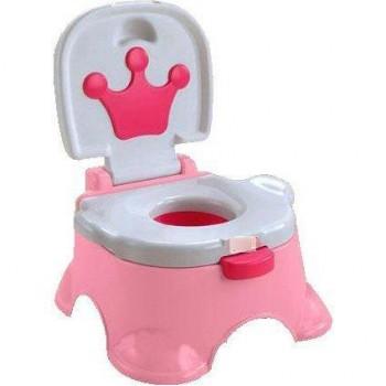 Музыкальный Королевский горшок для девочки 68011, розовый