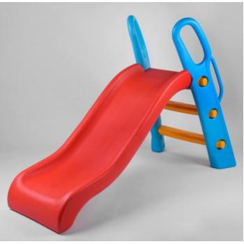 Детская пластиковая горка для игровой площадки или дома с бортами безопасности Pilsan