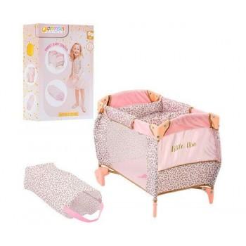 Детская кровать манеж для куклы Hauck By Little Diva D-90186