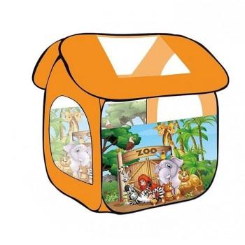 Детская игровая палатка (игровой домик) 8009 ZOO Зоопарк (112-102-114см)