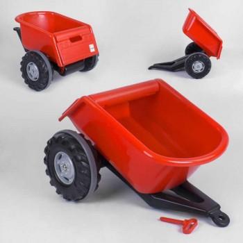 Прицеп для детских педальных тракторов Pilsan Trailer 07-295 Красный