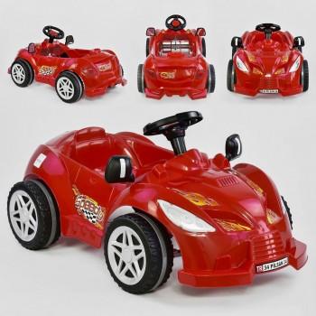 Машина педальная Pilsan Herby 07-312 Красный, клаксон на руле