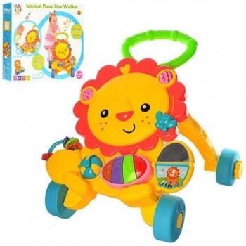 Детская каталка-ходунки S918 c музыкальными и световыми эффектами