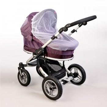 Москитная сетка на коляску-люльку универсальная Baby Breeze 0321 (3 цвета)