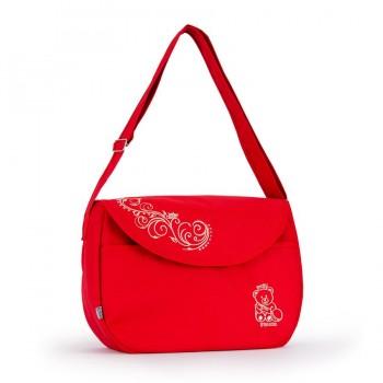 Сумка - почтальон на детскую коляску Baby Breeze 0355 красная