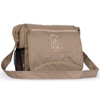 Классическая сумка для коляски Baby Breeze 0350 капучино