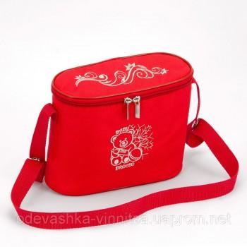 Термосумка для детских бутылочек Baby Breeze 0345 красная