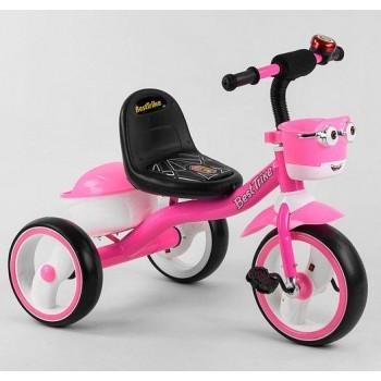3-х колесный велосипед для девочки, колеса с музыкой и световыми эффектами 94881