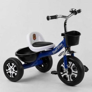 3-х колесный велосипед для ребенка с высокой спинкой и мягким сиденьем LM-6122