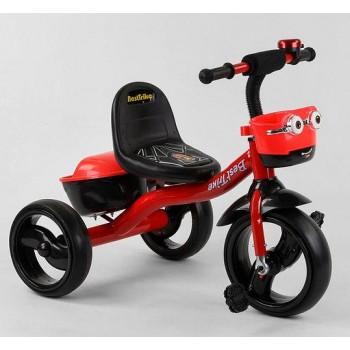 Велосипед для девочки трехколесный, колеса пена, с музыкой и светом 97282