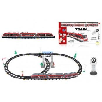 Детская железная дорога на радиоуправлении со световыми и звуковыми эффектами 2811 Y