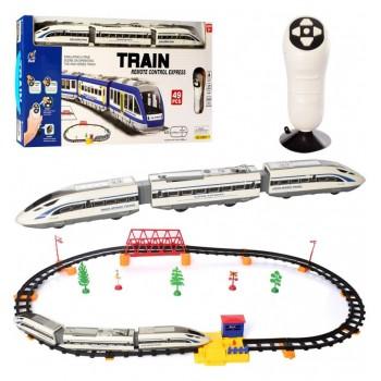 Детская железная дорога на радиоуправлении 2805Y-2 с длиной полотна 264 см (49 предметов)