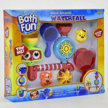 Детский набор игрушка для ванной водопад на присоске