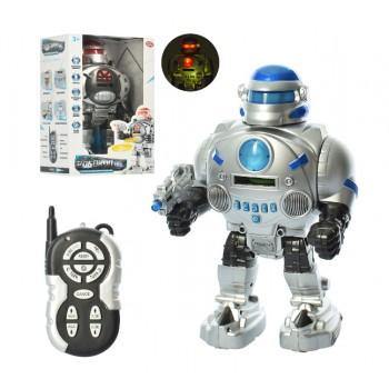 Детский боевой робот на радиоуправлении Play Smart 9895 с эффектами,стреляет мягкими патронами