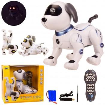 Многофункциональная робот-собака K16 на радиоуправлении, на русском языке, выражает эмоции