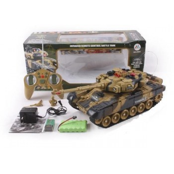 Игрушечный танк на радиоуправлении 9995