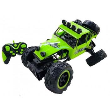 Детский радиоуправляемый Джип с большими колесами для мальчика 0132 Зеленый