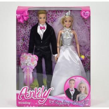 Детский игровой набор кукол для девочки