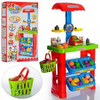Детский игровой магазин 661-79 с корзинкой (высота 82 см)