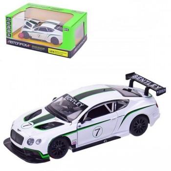 Автомодель игровая Автопром Bentley Continental GT3 Concep (68266A)