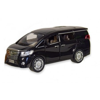Коллекционная автомодель металлическая Автопром 7685 (1:24) Toyota со световыми, звуковыми эффектами, черная