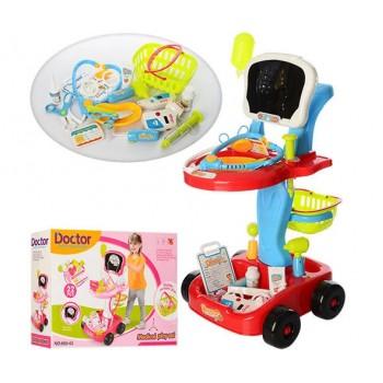 Детский игровой набор Доктора 660-43-44 со световыми и звуковыми эффектами, 22 предмета