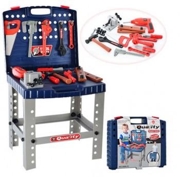 Детский игровой набор инструментов 008-21 Столик - чемодан