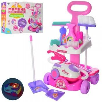 Детский игровой набор для уборки с тележкой и пылесосом А5938-51, высота 51 см
