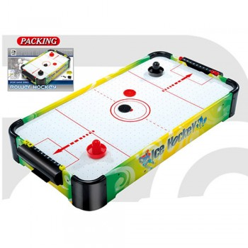 Воздушный хоккей, аэрохоккей для детей и взрослых со шкалой ведения счета 3001B работает от батареек