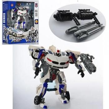 Детский полицейский робот трансформер 8820B робот-машинка 23 см