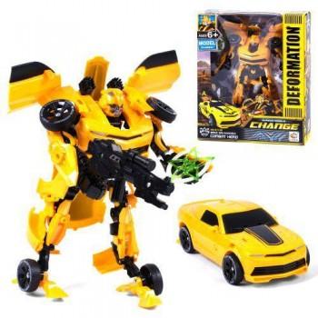 Детский Робот-Трансформер Бамблби для мальчика 611-26, трансформируется в машину и наоборот
