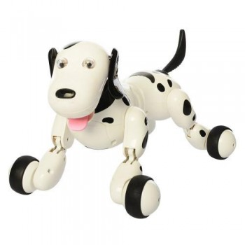 Интерактивная собака-робот с пультом управления 777-338 черная