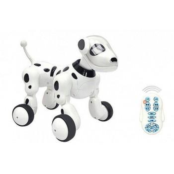 Многофункциональная интерактивная робот-собака 619 на радиоуправлении световые и звуковые эффекты
