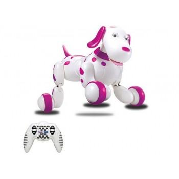 Многофункциональная интерактивная Собака на радиоуправлении 777-338 Розовый
