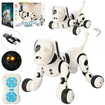 Многофункциональная интерактивная робот-собака 9007A (RC 0007) на радиоуправлении световые и звуковые эффекты