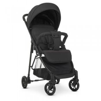 Всесезонная детская коляска для прогулок Bambi M 4249-2 Dark Gray, с поворотными колесами, темно-серая