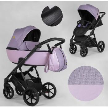 Детская коляска универсальная 2 в 1 Expander DEXO D-21044 цвет Pink,водоотталкивающая ткань и эко-кожа