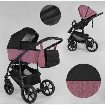 Детская коляска универсальная 2 в 1 Expander ELITE ELT-60305 цвет Rose,ткань с водоотталкивающей пропиткой