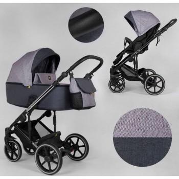 Детская коляска универсальная 2 в 1 Expander EXEO EX-32155 цвет Purple ткань с водоотталкивающей пропиткой