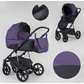 Детская коляска универсальная 2 в 1 Expander MODO M-71206 цвет plum с водоотталкивающей ткани