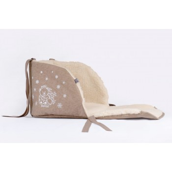 Матрасик для санок Baby Breeze 0301 (капучино)