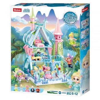 Детский игрушечный конструктор для девочки Sluban M38-B0898