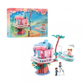 Детский конструктор серии Розовая Мечта