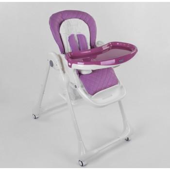 Стульчик для кормления подходит детям в возрасте от шести месяцев до трех лет Toti W-62005, розовый